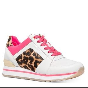 Michael Kors Billie Mixed Media Sneakers